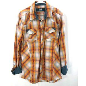 BKE Tailored Fit Button Down SZ LARGE